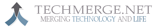 TechMerge.net Podcasting Network Merging Technology and Faith Logo