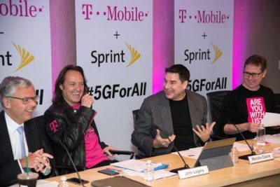 T-Mobile Sprint Merger 5G