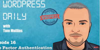 2FA WordPress Daily 16