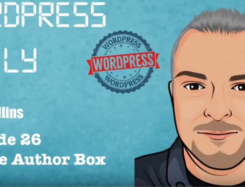 WordPress Daily 26 – Simple Author Box